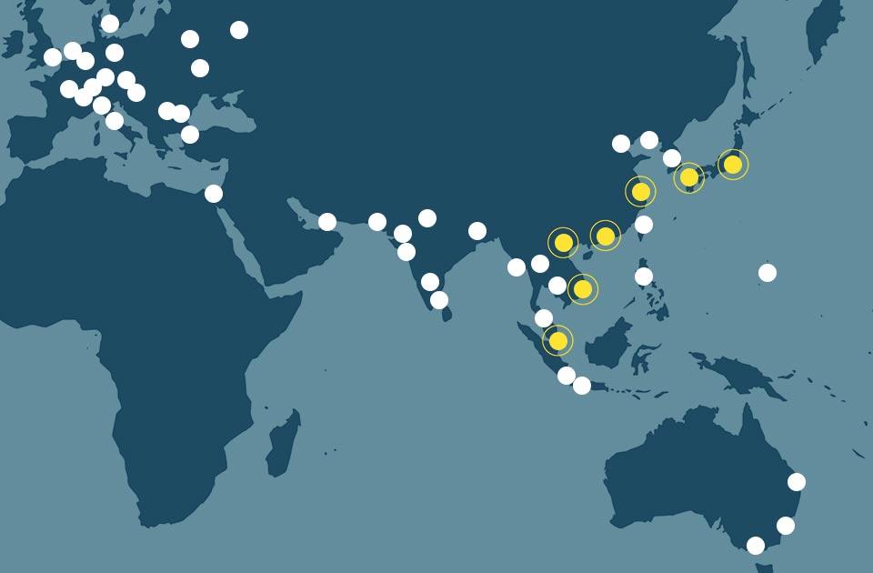 明倫国際法律事務所海外ネットワーク